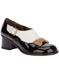 Marni Buckled Loafer - Lyst