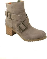 BC Footwear Tadpole Boots in Sand Suede - Lyst