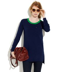 Madewell - Contrast Tunic - Lyst