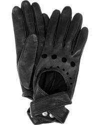 Agent Provocateur - Cutout Leather Gloves - Lyst