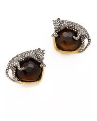 Alexis Bittar - Siyabona Panther Clip Earrings - Lyst
