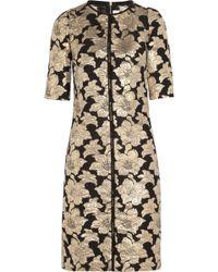 Marni Brocade Dress - Lyst
