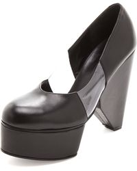 Surface To Air - Louna Cut Court Shoes - Lyst