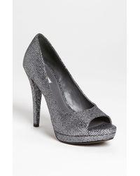 Vera Wang Footwear Selima Peep Toe Pump - Lyst