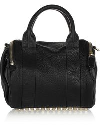 Alexander Wang Rockie In Soft Black With Pale Gold - Lyst