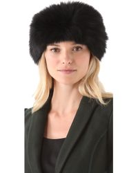 Rachel Zoe - Fox Fur Head Wrap - Lyst
