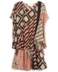 Thakoon Addition - Printed Ruffle Dress - Lyst