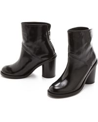 Surface To Air - Blank Booties with Back Zip - Lyst