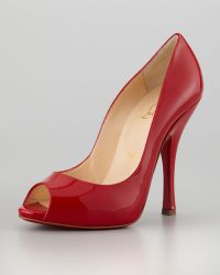 Christian Louboutin Maryl Patent Red Sole Pump - Lyst