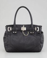Rachel Zoe - Zoe Belted Mini Tote Bag Black - Lyst