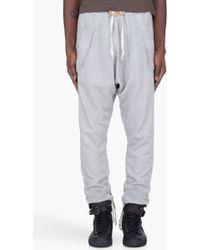 Silent - Damir Doma - Light Grey Harem Pants - Lyst