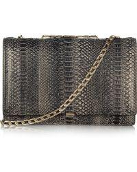 Victoria Beckham - Python Shoulder Bag - Lyst
