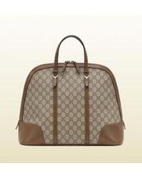Gucci - Gucci Nice Gg Supreme Canvas Top Handle Bag - Lyst