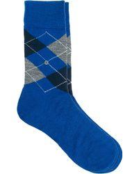 Smythson - Edinburgh Argyle Socks - Lyst