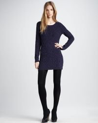 Theory Speckled Sweaterdress - Lyst