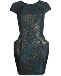 AllSaints Opulence Dress blue - Lyst