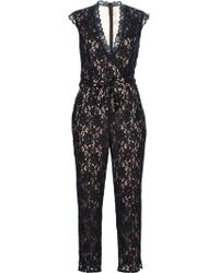 Alice By Temperley Kitty Jumpsuit black - Lyst