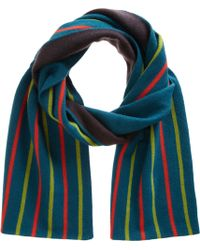 Armand Diradourian - Reversible Vale Knit Scarf - Lyst