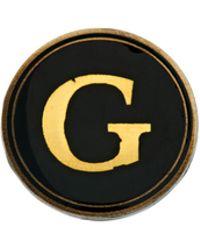 Cath Kidston - Cath Kidston Alphabet Letter Pin Badge - Lyst
