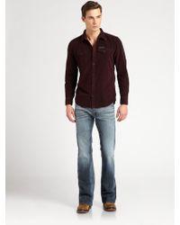 Diesel Zathan Bootcut Jeans - Lyst