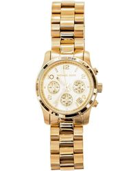Michael Kors Classic Triple Chronograph Watch - Lyst