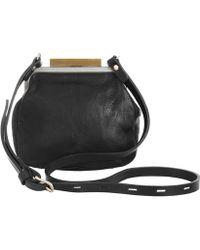 Ally Capellino - Black Kiki Mini Frame Bag - Lyst