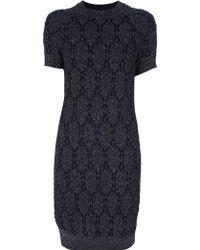 Lanvin Sweater Dress - Lyst