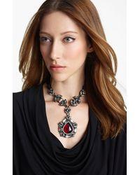 Lanvin Small Pendant Necklace - Lyst