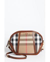 Burberry House Check Crossbody Bag - Lyst
