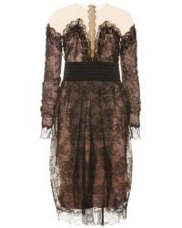 Zuhair Murad  Cocktail Dress with Lace - Lyst