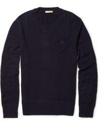 Burberry Brit Cashmere Crew Neck Sweater - Lyst
