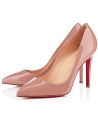 Christian Louboutin Pigalle Patent - Lyst