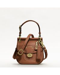 Coach Leather Mini New Willis - Lyst