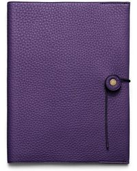 Coach Bleecker Pebbled Leather A5 Notebook - Lyst