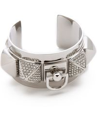Juicy Couture - Pyramid Metal Cuff - Lyst
