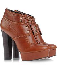 Rachel Zoe Brogue Boots - Lyst