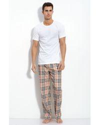 Burberry London Pajama Box Set beige - Lyst