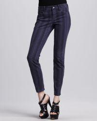 Splendid - Striped Denim Pants - Lyst