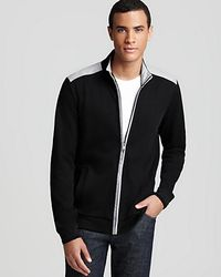 Boss Black Pacentro Zip Sweater - Lyst