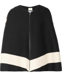 Boy by Band of Outsiders - Striped Woven Alpaca Cape - Lyst