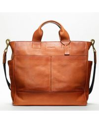 Coach Bleecker Legacy Leather Utility Tote - Lyst