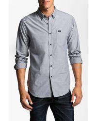 RVCA Thatll Do Oxford Shirt - Lyst