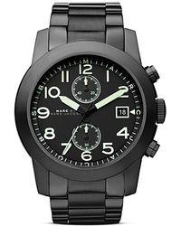 Marc By Marc Jacobs - Larry Bracelet Watch 46mm - Lyst