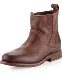 Vintage Shoe Company - Sulphur Boots Chocolate - Lyst