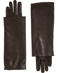 Nina Ricci Long Layered Cuff Gloves - Lyst