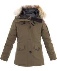 Canada Goose Montebello Furtrimmed Coat - Lyst