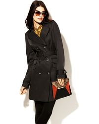 Vince Camuto Belted Trench Coat - Lyst