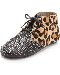 House of Harlow 1960 - Killian Lace Up Booties - Lyst