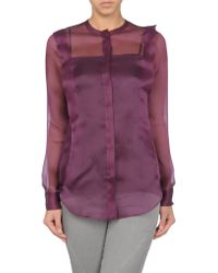 Vionnet Long Sleeve Shirt - Lyst