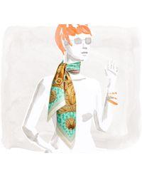 Hermès Casques Et Plumets multicolor - Lyst